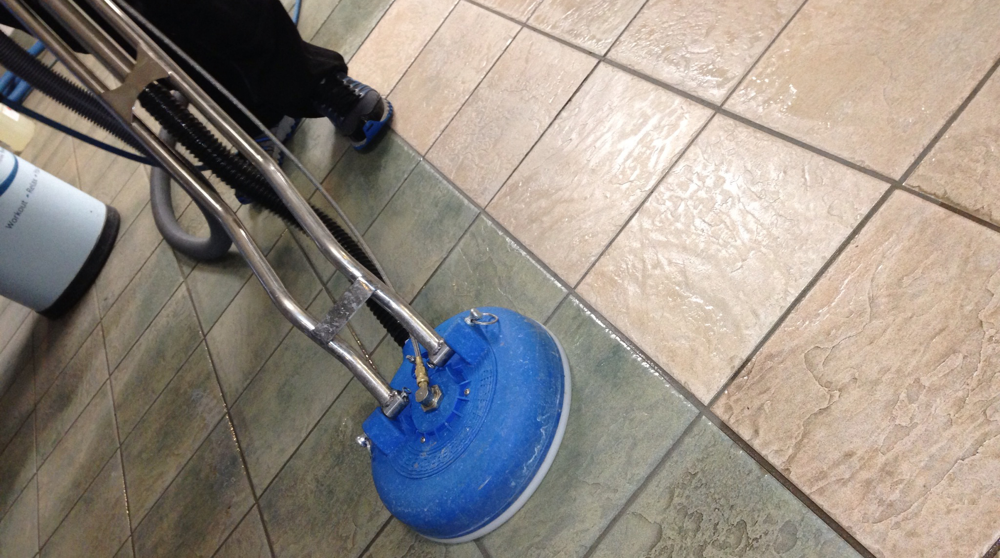 Tile and grout cleaner rental tile design ideas for How to clean unsealed grout